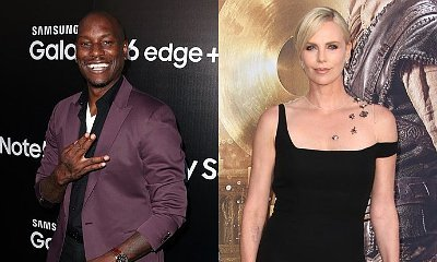 Tyrese Gibson 'Flirting' With Charlize Theron on Set of 'Fast 8'