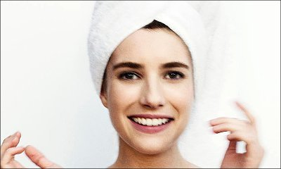 Emma Roberts Goes Topless for Mario Testino's Towel Series Shot