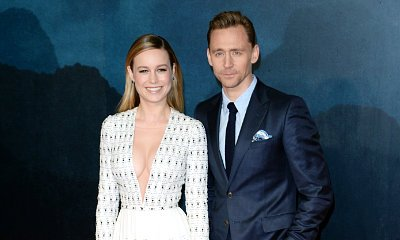 Brie Larson Flashes Cleavage at 'Kong: Skull Island' Premiere, Tom Hiddleston Reveals SAS Training