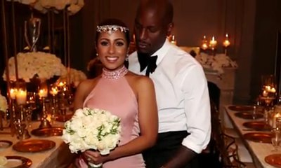 Tyrese Gibson Married in Secret Valentine's Day Ceremony