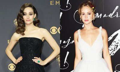 Emmy Rossum Applauds Jennifer Lawrence, Says She's Fat-Shamed Too by Female Producers