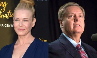Chelsea Handler Called 'Homophobic' After Attacking Lindsey Graham on Twitter