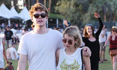 Emma Roberts Flaunts Her Engagement Ring From Evan Peters