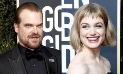 Report: David Harbour Is Dating Alison Sudol
