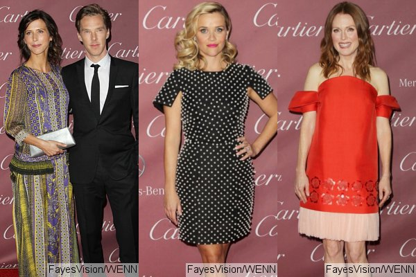 Benedict Cumberbatch, Reese Witherspoon, Julianne Moore Attend Palm Springs Film Festival
