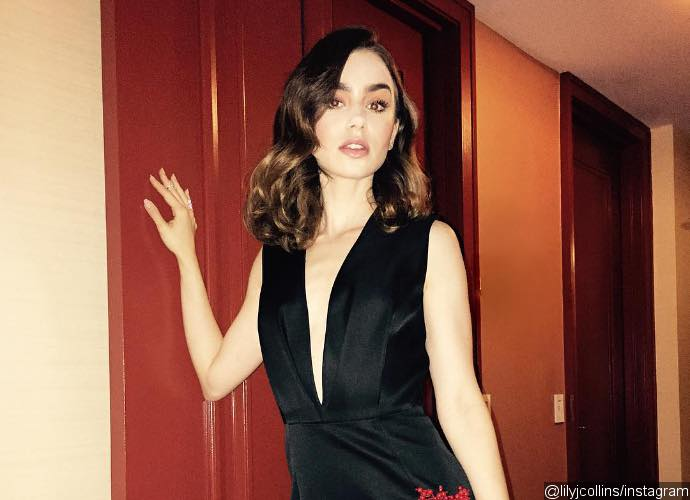 Lily Collins Locks Lips With High School Classmate During Romantic Italy Vacation