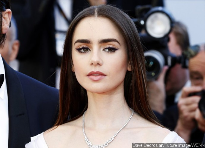 Lily Collins Shares Cute Throwback Pic and Fans Just Can't Handle It
