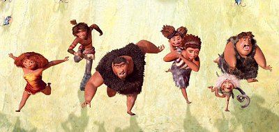 Emma Stone and Nicolas Cage go primitive in 'The Croods'