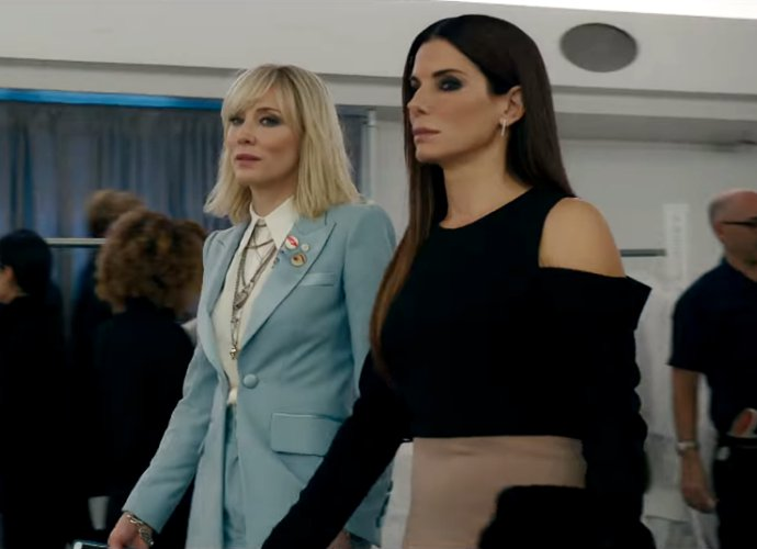 Sandra Bullock and Cate Blanchett Stage a Top-Secret Jewelry Heist in 'Ocean's 8' Teaser Trailer