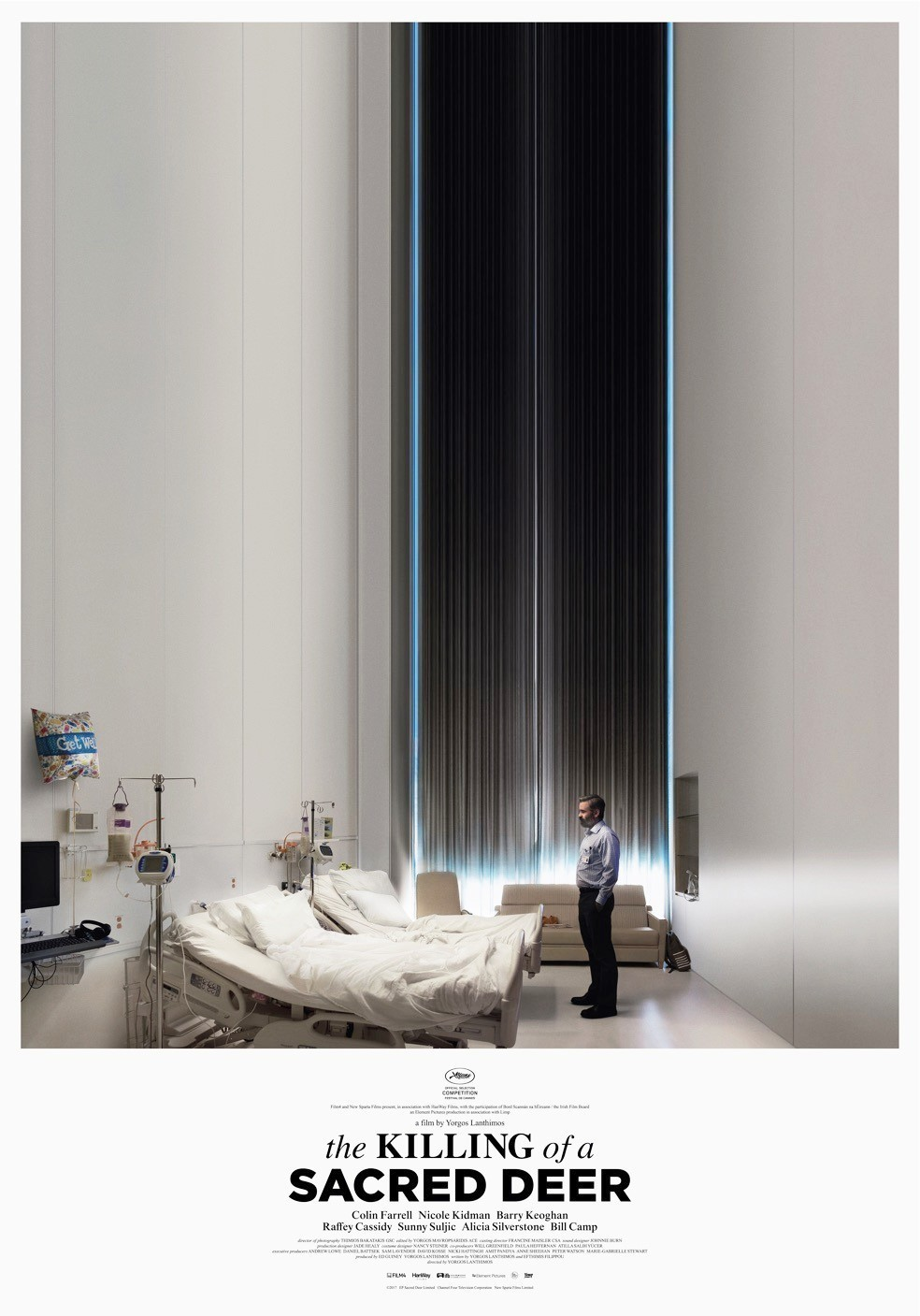 Poster of A24's The Killing of a Sacred Deer (2017)