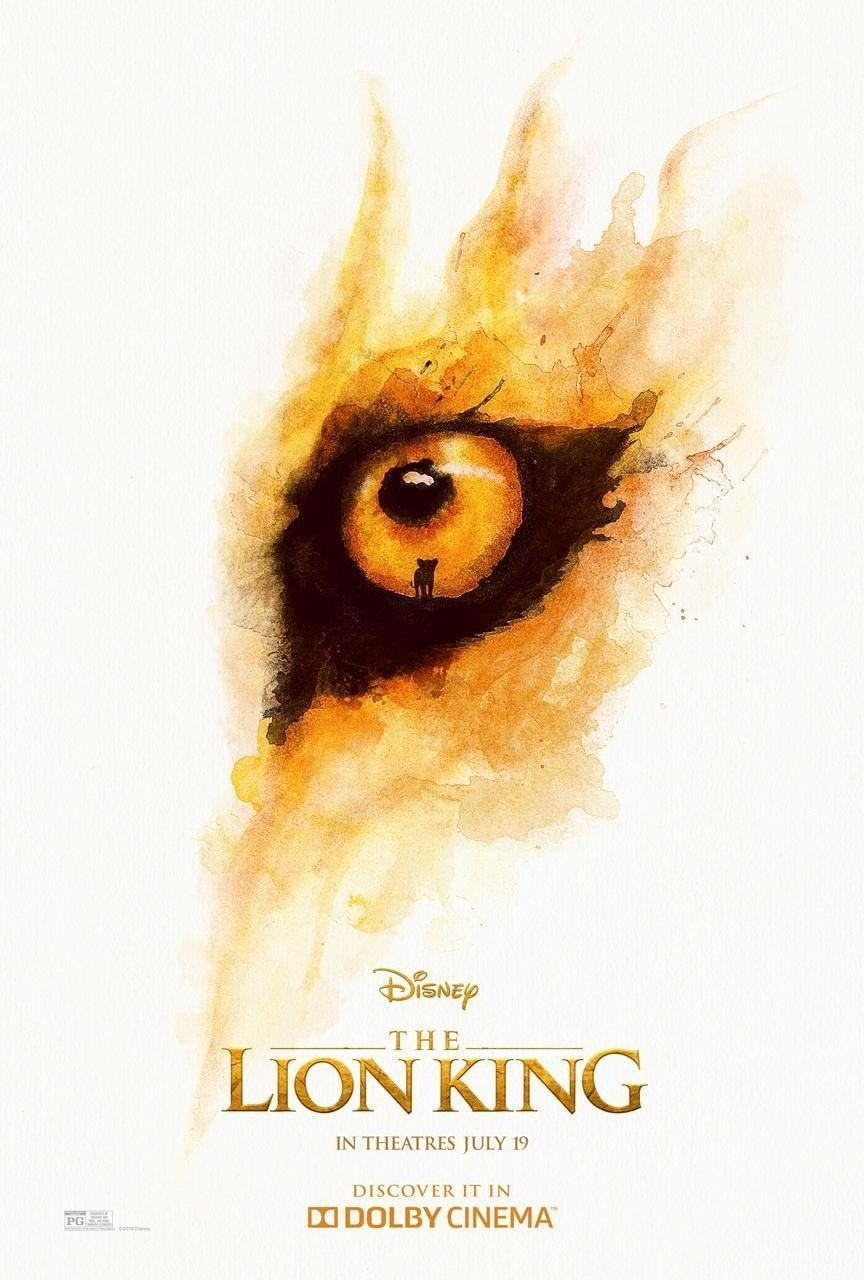 Poster of Walt Disney Pictures' The Lion King (2019)