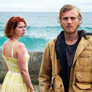 Jessie Buckley stars as Moll and Johnny Flynn stars as Pascal in Roadside Attractions' Beast (2018)
