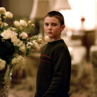 Cameron Bright as Young Sean in New Line Cinema's Birth (2004)
