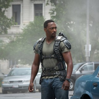 Anthony Mackie stars as Sam Wilson/The Falcon in Walt Disney Pictures' Captain America: The Winter Soldier (2014)