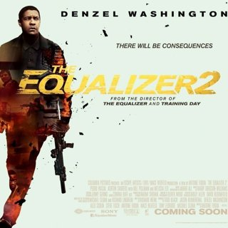 Poster of Sony Pictures' The Equalizer 2 (2018)