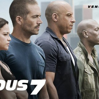 Poster of Universal Pictures' Furious 7 (2015)