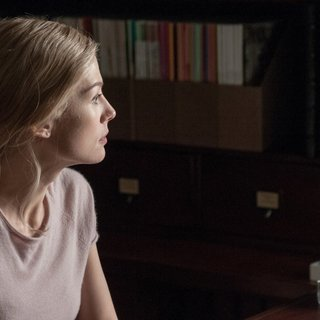 Rosamund Pike stars as Amy Dunne in 20th Century Fox's Gone Girl (2014)