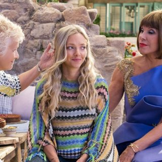 Julie Walters, Amanda Seyfried and Christine Baranski in Universal Pictures' Mamma Mia! Here We Go Again (2018)