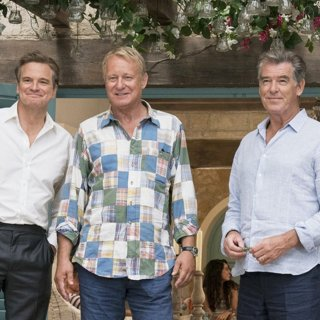 Colin Firth, Stellan Skarsgard and Pierce Brosnan in Universal Pictures' Mamma Mia! Here We Go Again (2018)