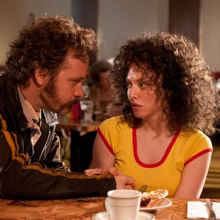 Peter Sarsgaard stars as Chuck Traynor and Amanda Seyfried stars as Linda Lovelace in Radius TWC's Lovelace (2013)