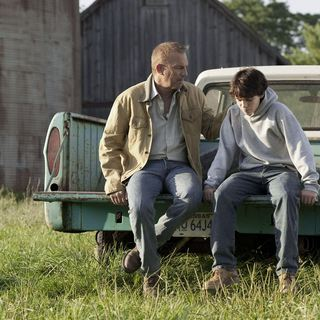 Kevin Costner stars as Jonathan Kent and Dylan Sprayberry stars as Clark Kent at 13 in Warner Bros. Pictures' Man of Steel (2013)