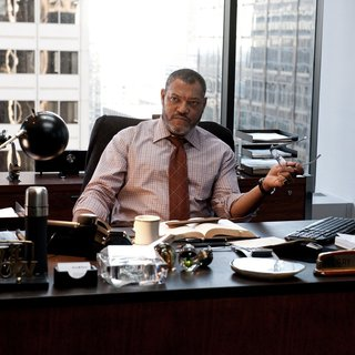 Laurence Fishburne stars as Perry White in Warner Bros. Pictures' Man of Steel (2013)