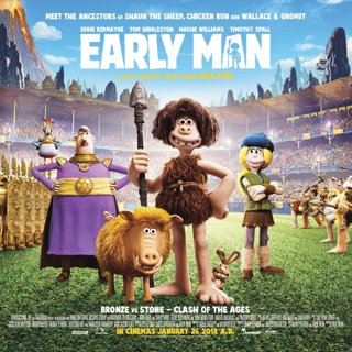 Poster of Summit Entertainment's Early Man (2018)