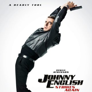 Poster of Universal Pictures' Johnny English Strikes Again (2018)