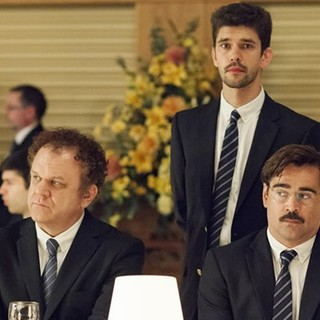 John C. Reilly, Ben Whishaw and Colin Farrell in A24's The Lobster (2016)