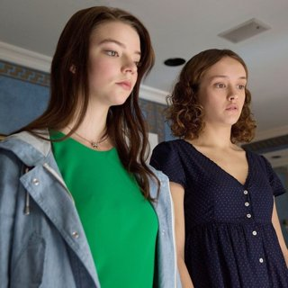 Anya Taylor-Joy stars as Lily and Olivia Cooke stars as Amanda in Focus Features' Thoroughbreds (2018)