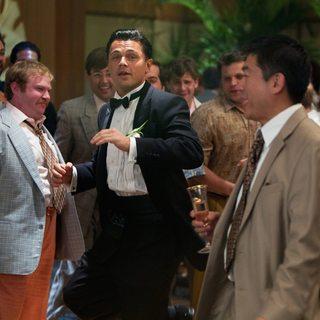Leonardo DiCaprio stars as Jordan Belfort in Paramount Pictures' The Wolf of Wall Street (2013)