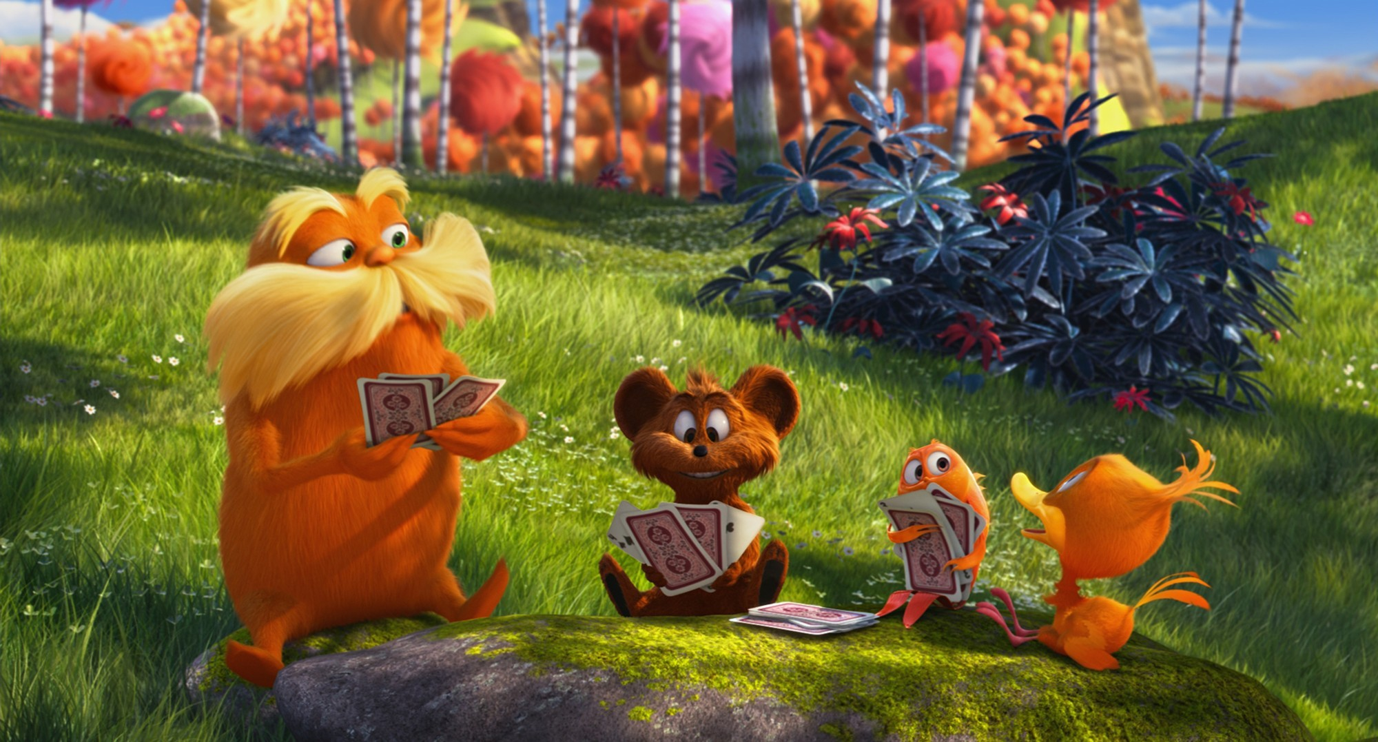 A scene of Universal Pictures' The Lorax (2012)