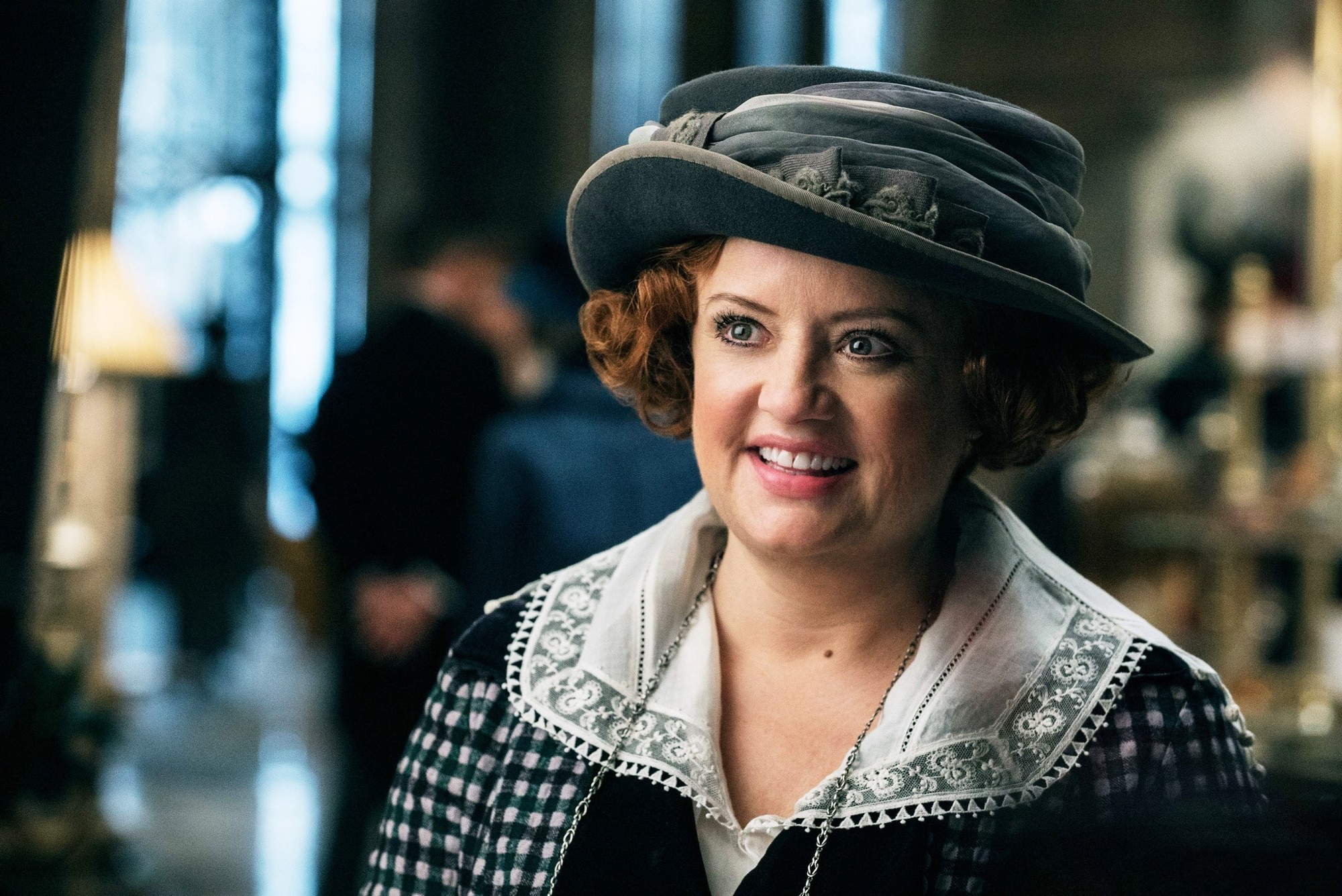 Lucy Davis stars as Etta Candy in Warner Bros. Pictures' Wonder Woman (2017)
