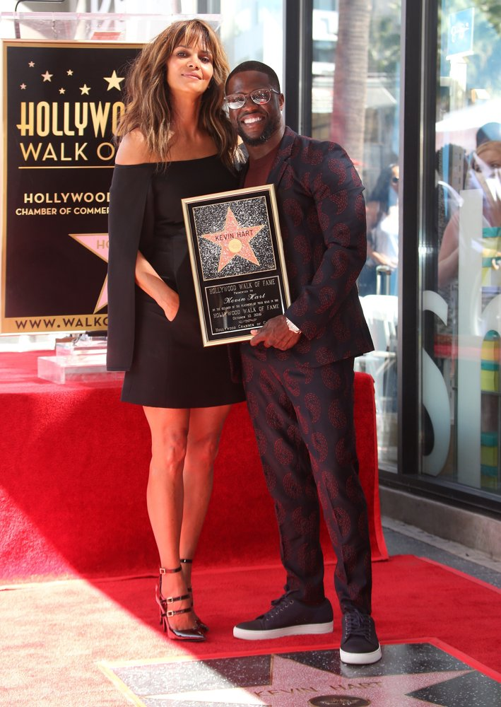 Halle Berry, Kevin Hart<br>Kevin Hart Is Honored with A Star on The Hollywood Walk of Fame