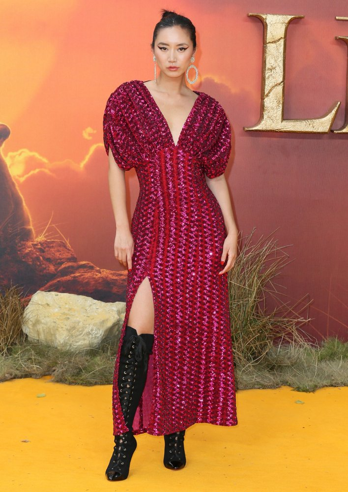 Betty Bachz<br>The European Premiere of The Lion King - Arrivals