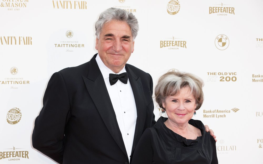 Jim Carter, Imelda Staunton<br>The Old Vic Theater Celebrates It's 200th Birthday