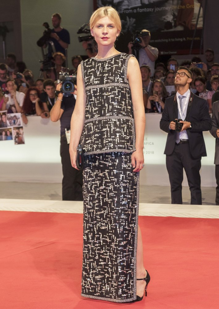 Clemence Poesy<br>75th Venice International Film Festival - The Favourite - Premiere