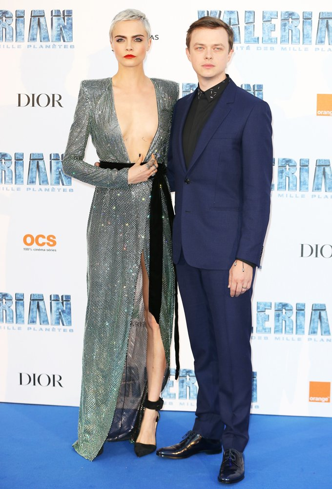 Cara Delevingne, Dane DeHaan<br>Paris Premiere of Valerian and the City of a Thousand Planets - Arrivals