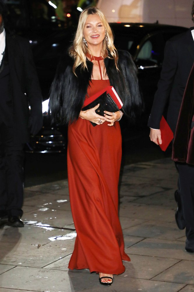 Kate Moss<br>National Portrait Gallery Gala 2019