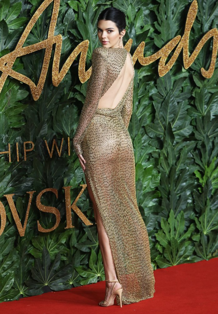 Kendall Jenner<br>The British Fashion Awards 2018 - Arrivals
