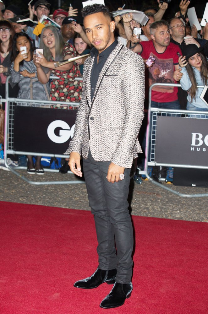 Lewis Hamilton<br>2016 GQ Men of The Year Awards