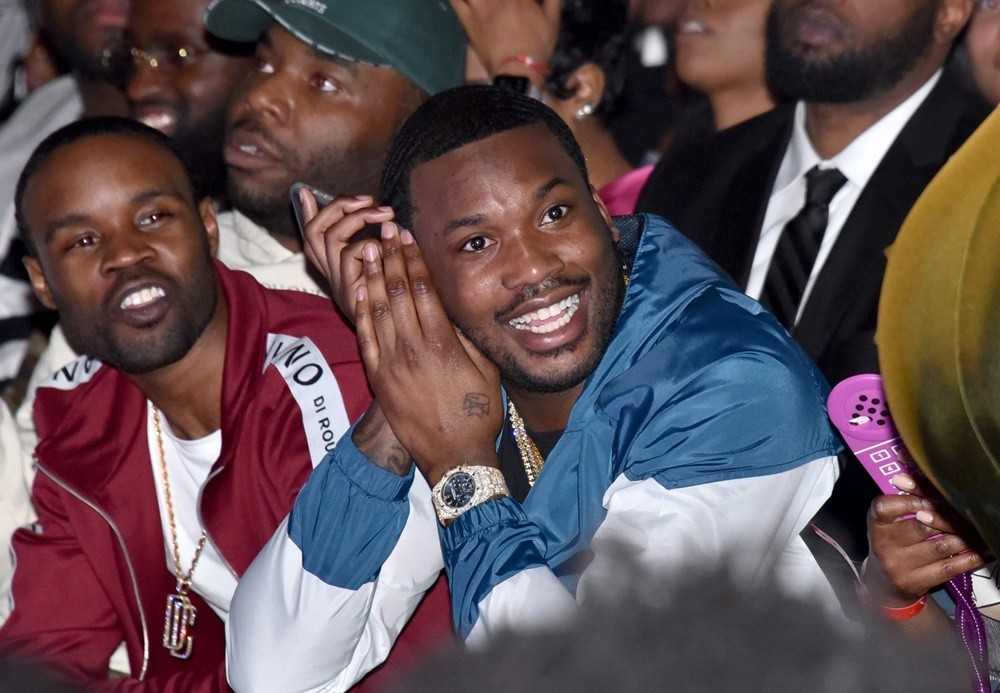 Meek Mill<br>Milano Di Rouge Fashion Show