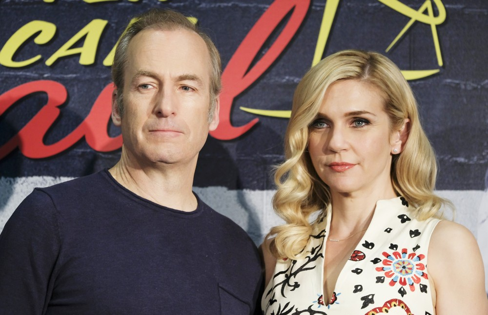 Bob Odenkirk, Rhea Seehorn<br>Better Call Saul Madrid Photocall - Arrivals
