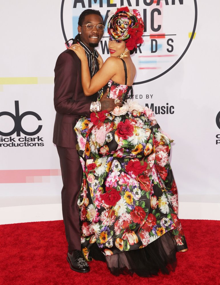 Offset, Cardi B<br>2018 American Music Awards - Arrivals