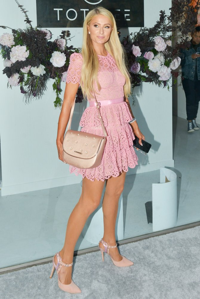 Paris Hilton<br>The Totalee Hair Care Store Opening