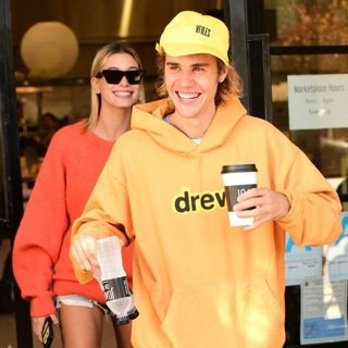 Justin Bieber and Hailey Baldwin After Breakfast