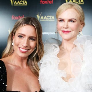 Renee Bargh, Nicole Kidman in 8th AACTA International Awards - Arrivals