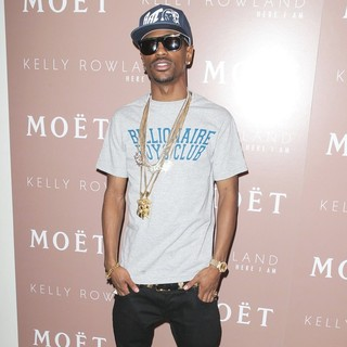 Big Sean in Album Release Party for Kelly Rowland's Album Here I Am