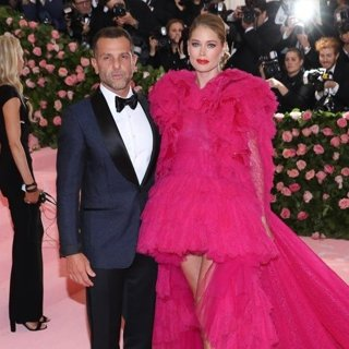 Alexandre Birman, Doutzen Kroes in The 2019 Met Gala Celebrating Camp: Notes on Fashion