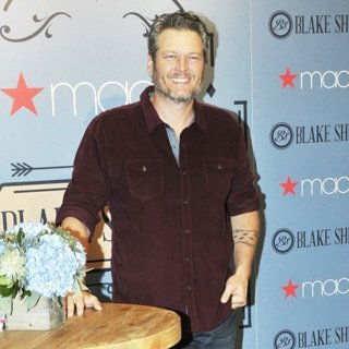 Blake Shelton in BS by Blake Shelton Launch at Macy's